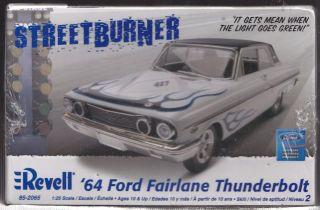 1964 Ford Fairlane Thunderbolt 1 25 Plastic Model Kit 85 2065