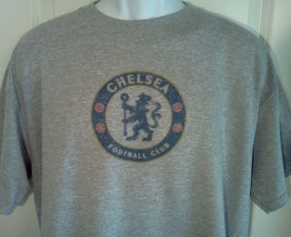 Chelsea Football Club Premier League Logo T Shirt XXL