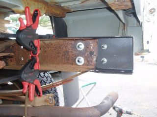 Ford Ranger Rusted Rear Frame Rot Fix Repair 93 07