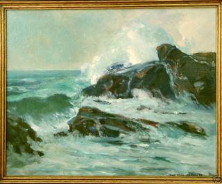 Frederick w Becker Luguna Beach Painting Listed Artist