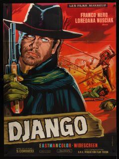 Django 1966 French 45x62 Sergio Corbucci Franco Nero