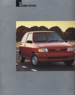 1991 Ford Festiva Sales Brochure Book Catalog