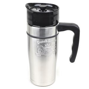Dutch Bros Coffee Dutch Press Stainless Steel French Press Travel