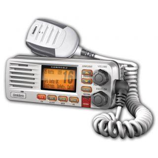 NEW UNIDEN UM 380 CLASS D FIXED MOUNT MARINE VHF RADIO WHITE