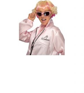 FunCostumes Authentic Grease Plus Size Pink Ladies Jacket