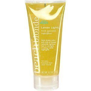 John Frieda Beach Blonde Lemon Lights highlighter sexy summer hair 6 2