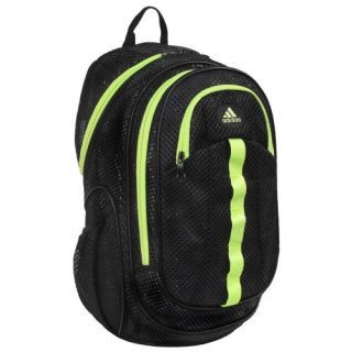 New Adidas Forman Mesh Backpack Black Green Mochila Maletin Rucksack