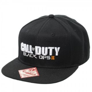 Treyarch Call of Duty Black Ops 2 Snapback Flat Bill Cap Hat