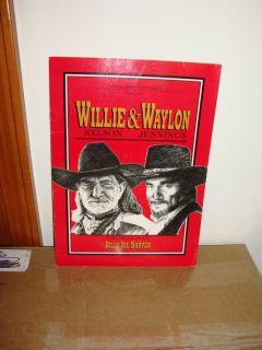 Waylon Jennings Willie Nelson Australia Tour Book 1994