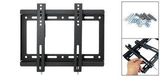 Metal Bracket Shelf Wall Mount for LCD TV Flat Panel