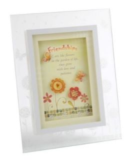 Friendship Musical Sentiments Frame Plaque Friend Gift Large