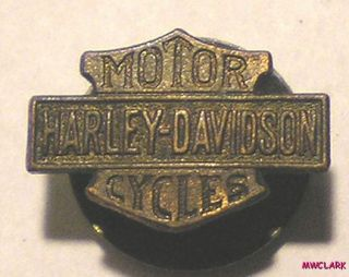 HARLEY DAVIDSON MOTOR CYCLE Lapel Pin #2 from FRED FOEST SF CA