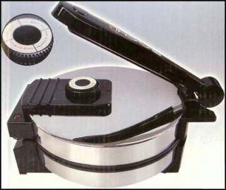 Saachi SA 1650 Roti Tortilla Maker (110V) w/ Temperature Control