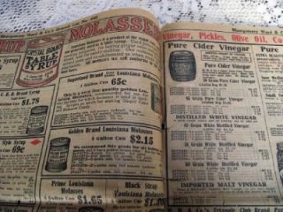 1913 Montgomery Ward Co Grocery Bargain Catalog Chicago