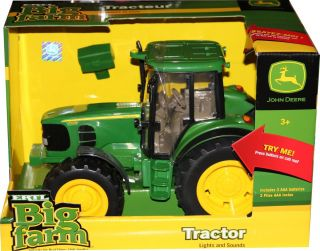NEW John Deere Big Farm Series 7330 Tractor Lights and Sounds 1 16