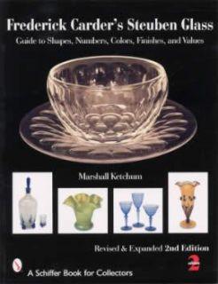 Frederick Carder Steuben Glass Book Antique Vintage Art