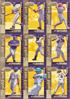 1995 COLLECTORS CHOICE CRASH THE GAME GOLD EXCHANGE nr COMPLETE SET