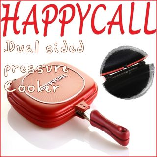 Non Stick Frying Pan Dual Sided Pressure Cooker High Quality