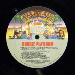 KISS Double Platinum (1978) Vinyl 2 LP Set ~ VG+ ~ NBLP 7100 2 WLP