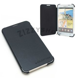 Samsung Galaxy Note Amigo Flip Cover Case PU Synthetic Leather Black