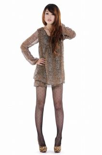 Style Women Ladies Leopard Color High Heel Shoes Size 4 8 SK090