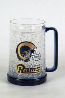 St Louis Rams Official NFL 16 Ounce Beer Freezer Mug New