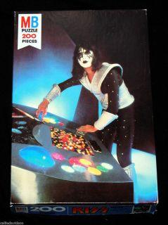 Kiss Ace Frehley Puzzle 1978 Milton Bradley Aucoin 200 Pieces Complete