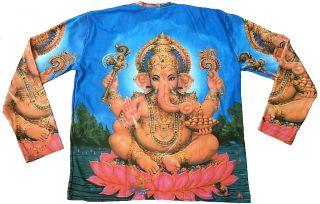Lord Ganesh Ganesha Hindu Deity Mantra Statue Tattoo Art Designer T