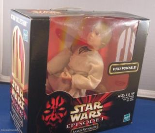 Star Wars Episode 1 Anakin Skywalker Doll New 12 Scale Figure