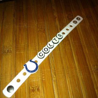 Shoe Charms Fit Crocs Jibbitz NFL Indianaplois Colts Bracelet