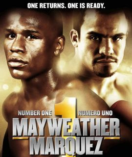 Floyd Mayweather vs Juan Manuel Marquez HD Blu Ray Full Fight 24 7 not