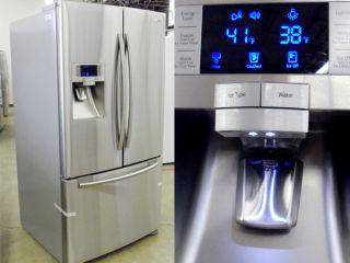 29 CU ft Stainless Steel 3 Door French Door Refrigerators