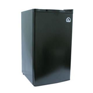 Igloo 3.2 cu ft Compact Mini Fridge / Refrigerator   Dorm, Garage