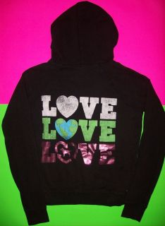Victorias Secret PINK hoodie recycle eco planet sweat shirt sweater