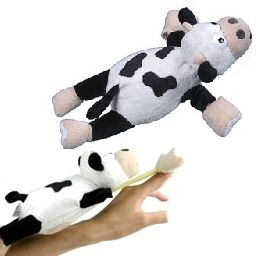 New Slingshot Flying Loud Screaming Mooing Cow Dog Toys