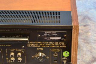 Pioneer TX 9100 Vintage Stereo AM / FM Tuner in Factory Box 2408