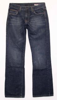 Calvin Klein Slim Bootcut sz 30 Womens Blue Jeans Denim Pants FO69