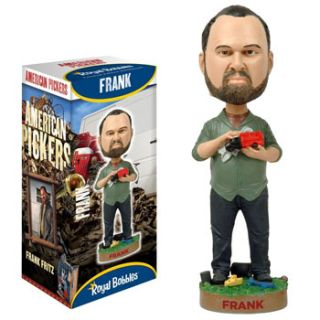 Royal Bobbles Limited Edition Bobblehead American Pickers Frank Fritz