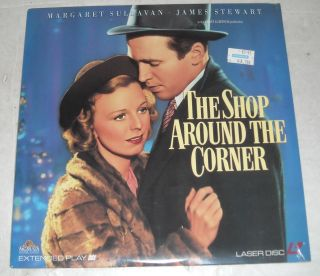 SEALED Movie Laserdisc 1940 The Shop Around The Corner Jimmy Stewart