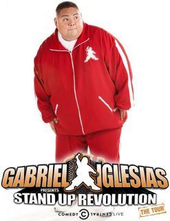 Gabriel Iglesias Stand Up Revolution T Shirt Funny Humor Comedian DVD