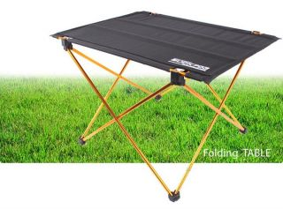 New Black Lightweight Portable Folding Table Camping Fishing Leisure