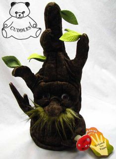 Enchanted Tree Hand Puppet Folkmanis Plush Toy Stuffed Animal