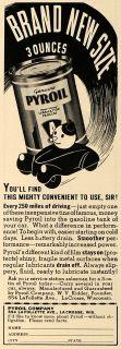 1938 Ad Pyroil Co Oil Lubricant Products La Crosse Wi Original