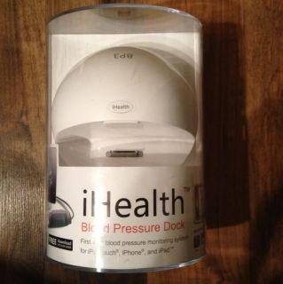 Brand New iHealth Blood Pressure Dock for iPod iPhone iPad BP3 White