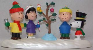 New Vintage 1995 Hallmark Keepsake Peanuts Charlie Brown Christmas
