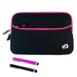 Samsung Galaxy Tab 7 0 Plus 7 Tablet PC Case Pouch Sleeve Bag Pink w