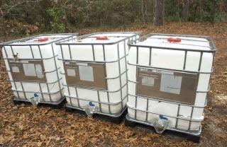 Food Grade 275 300 330 Gallon Watering Totes Tanks Rain Barrel