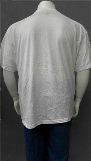 Foot Locker Mens Big & Tall Cotton Basic T Shirt SZ 3XL White Short