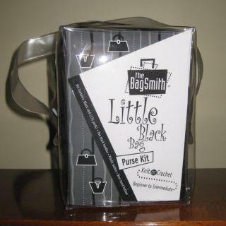 bagsmith little black bag knit crochet purse kit