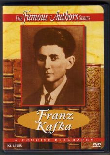 FRANZ KAFKA BIOGRAPHY FAMOUS AUTHORS SERIES DVD 2008 THE TRIAL